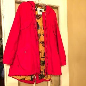 Anthropologie Rain Coat